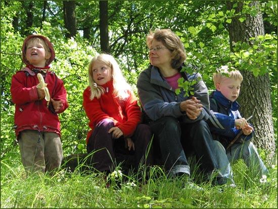 Waldfamilie